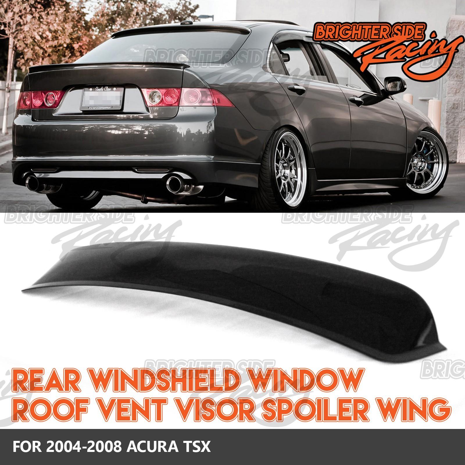Fits 04 08 acura tsx 1pc rear window roof visors sun guard for 04 acura tl oem window visors