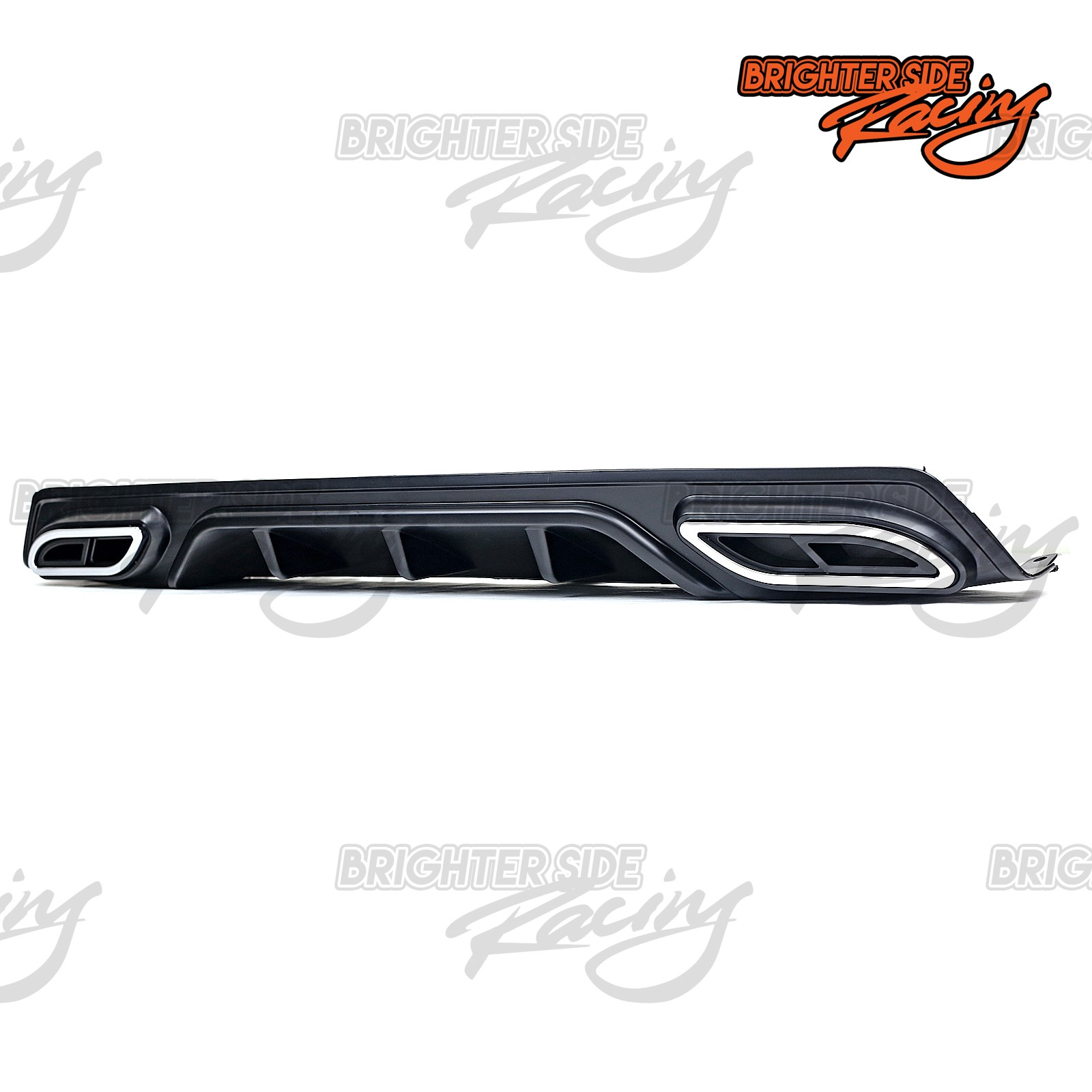 UP HONDA CIVC SEDAN JDM BLACK REAR DIFFUSER