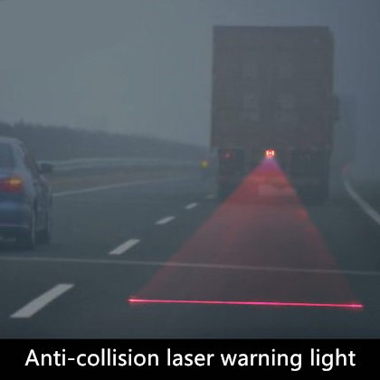 HIGH TECH REAR LASER WARNING LIGHTS FOR FORD INCREASE  VISIBILY IN RAINY DAYS