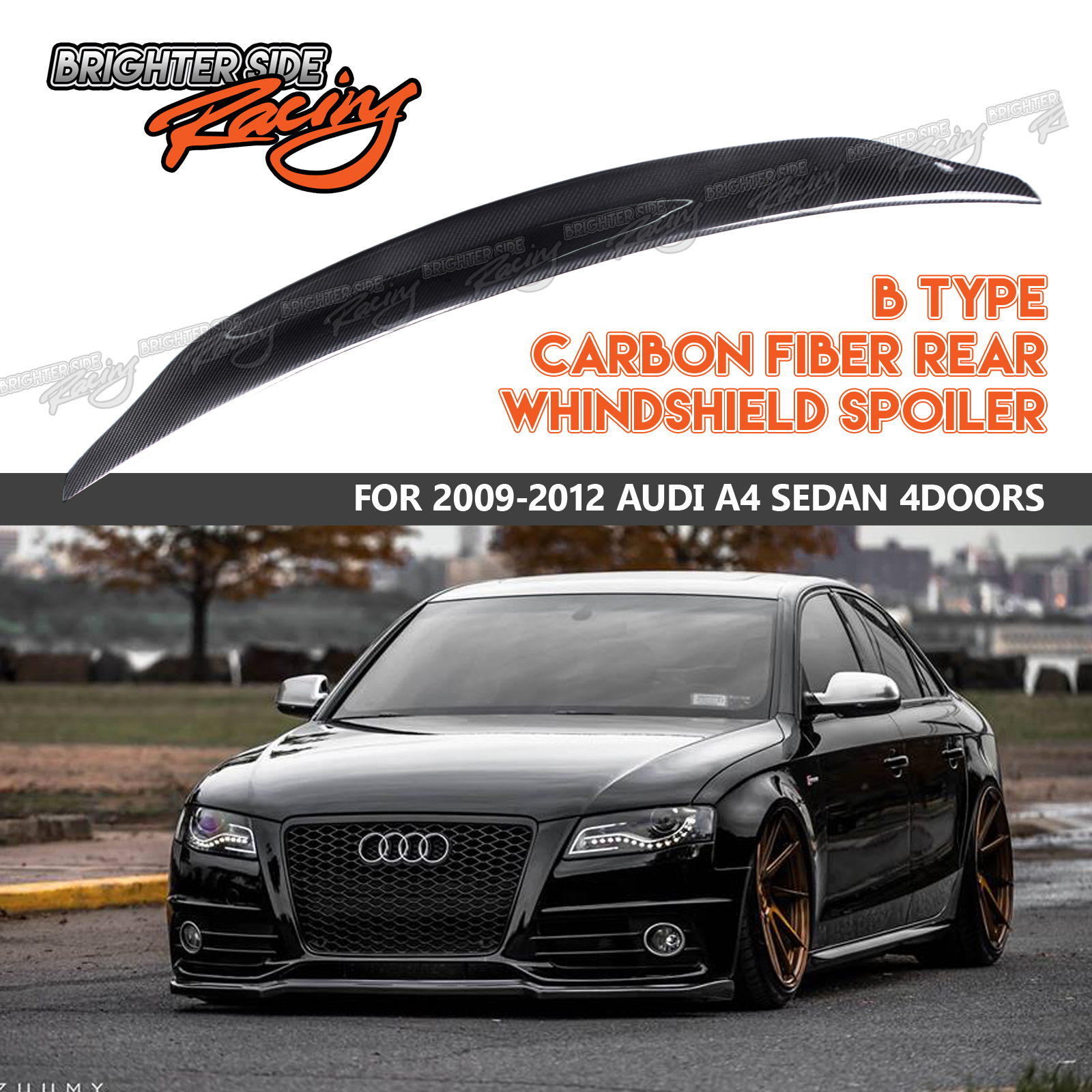 Image is loading FOR-09-12-AUDI-A4-B8-4DR-CAT-